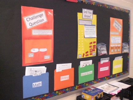Checkout this great post on Bulletin Board Ideas!   Love the Interactive board  :)