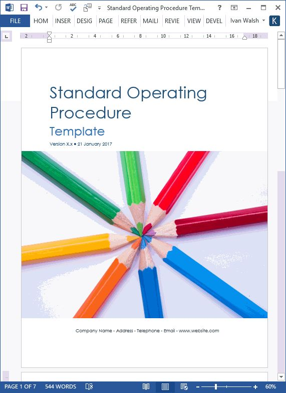 Download these SOPs templates and get started on your next set of procedures. Includes sample MS Word & Excel guidelines.Standard Operating Procedures (SOPs) help government organizations, eme…