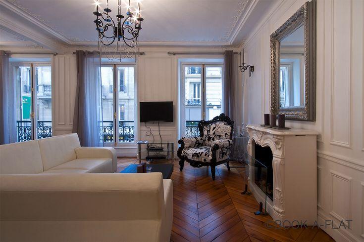 Rue de Berri, Paris 8ème. Location appartement meublé à Paris | Ref 6465 Book-A-Flat