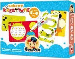CzuCzu Zabawy kreatywne dla dzieci w wieku 3-4 lat