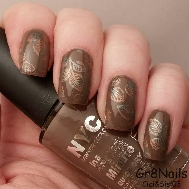 Best 201 AUTUMN NAILS images on Pinterest   Autumn nails, Nail art ...