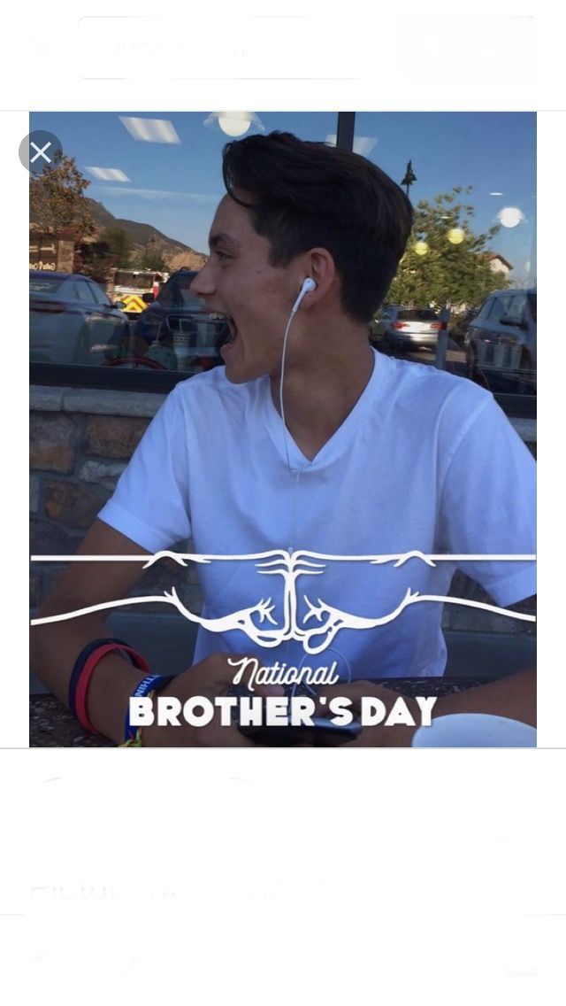Happy national brothers day