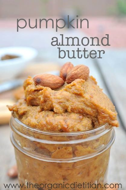 Pumpkin Almond Butter #veganMonster