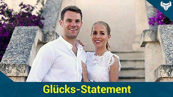 Manuel Neuer (31) hat sich endlich getraut! Der Fußballer krönte seine Liebe zu seiner Freundin Nina Weiss am vergangenen Wochenende mit einer romantischen Hochzeit im italienischen Bari. Vor 187 Gästen gab sich das Brautpaar in der Kathedrale in Monopoli das Jawort. Nach dem schönsten Tag in seinem Leben meldet sich der Torhüter nun erstmals bei seinen Fans: Und Manuel kann sein Glück wohl selbst noch nicht fassen!   Source: http://ift.tt/2skDVlA  Subscribe: http://ift.tt/2qsx2iw…