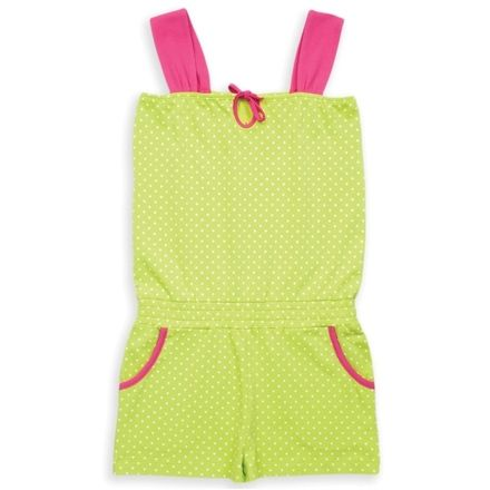 Kite Lime Spotty Playsuit