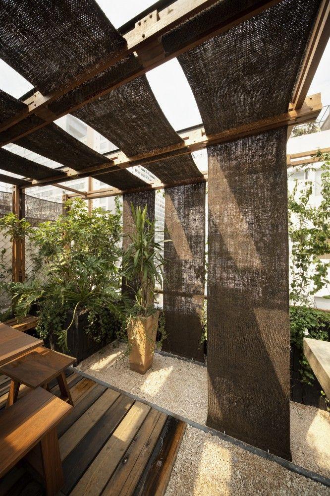 Galer a de terraza tea estudio mmx 3 shade screen - Pergolas en terrazas ...