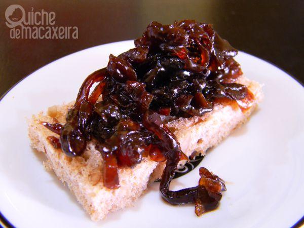 Chutney de Cebola Roxa Caramelizada