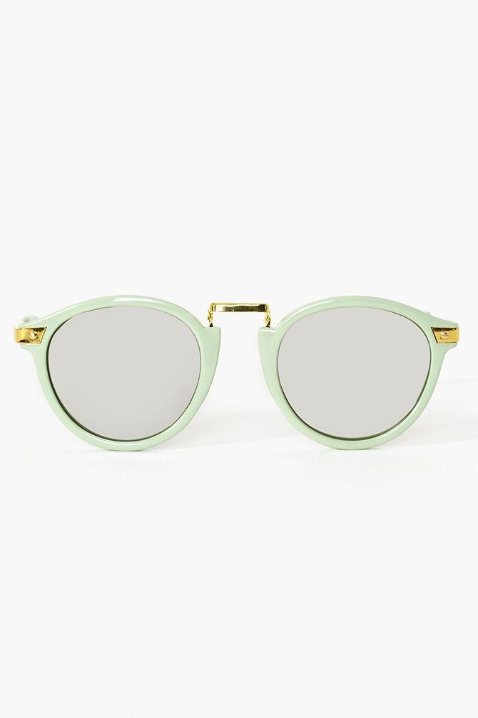Cool Cat Shades #sunglasses #cateye #sunnies #retro #mint #frame