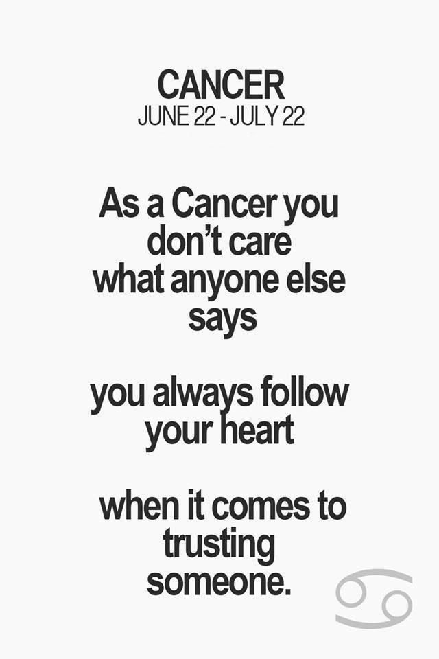 Horoscope Memes Quotes Cancer Quotes Zodiac Cancer Horoscope Facts Horoscope Memes