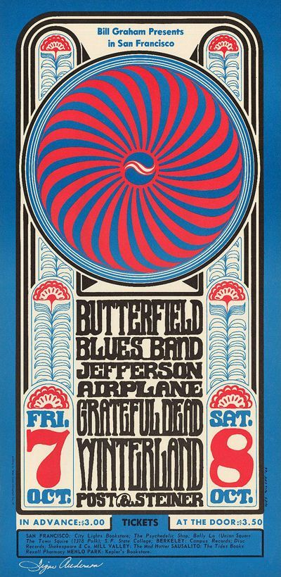 112 Best 60 S Psychedelic Rock Posters Images On Pinterest