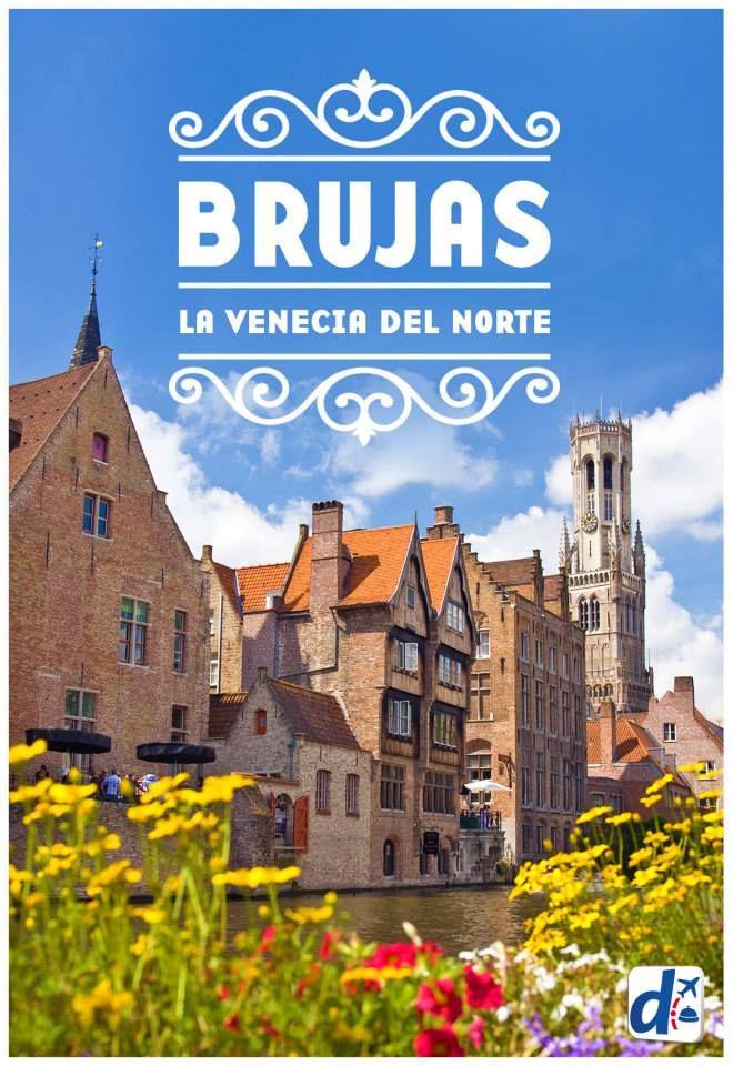#Brujas es considerada una de las ciudades más hermosas de Europa ¡Te contamos todo de ella para que puedas tener el #viaje de tus sueños!