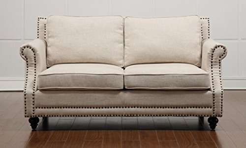Lowest Price On Tov Furniture Camden Beige Linen Loveseat Tov 63801 2 Beige Shop Today With Images Beige Living Room Furniture Love Seat Furniture