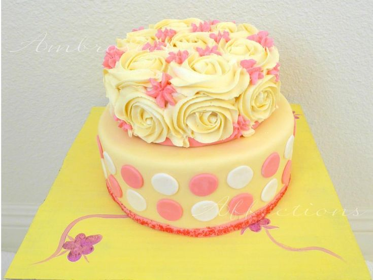 Pink Birthday Cake Decoration Ideas : 21 best images about Birthday Cake Decorating Ideas on ...