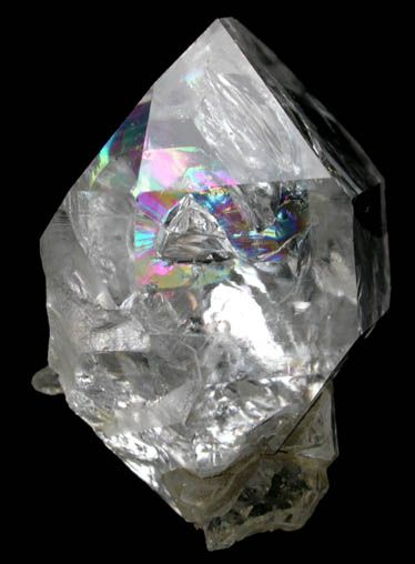Detail of Quartz var. Herkimer Diamonds from Diamond Acres (Hastings Farm), Fonda, Montgomery County, New York
