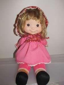 Vintage 1970s 1973 Fisher Price lapsitter Natalie doll