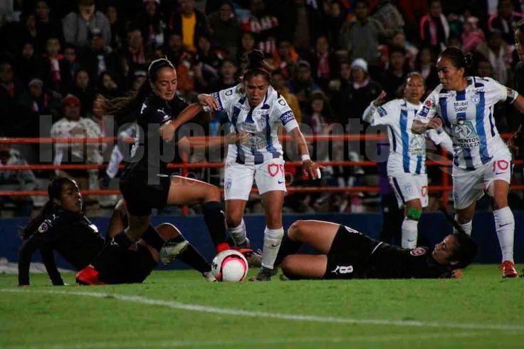 Toma Pachuca ventaja en la final femenil - Independiente de Hidalgo (Comunicado de prensa)