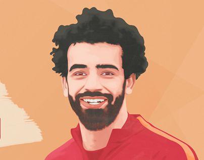 """Check out new work on my @Behance portfolio: """"Mohamed Salah"""" http://be.net/gallery/50049301/Mohamed-Salah"""