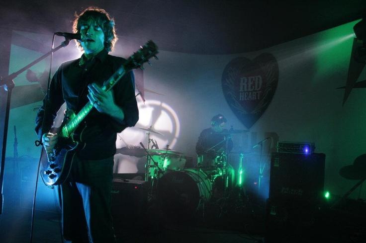 Aidan Martin on stage @ Arcade Empire
