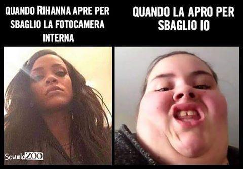 #rihanna #selfie #ScuolaZoo