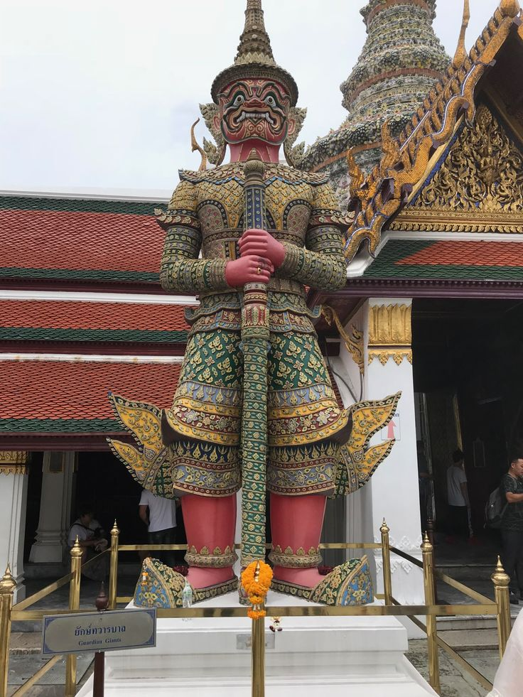 Bangkok Thailand: The Temple of the Emerald Buddha and the Grand Palace