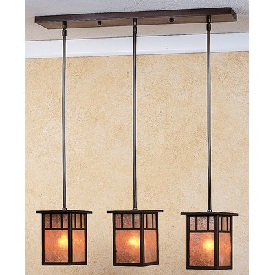 Arroyo Craftsman Huntington 3 Light Island Light