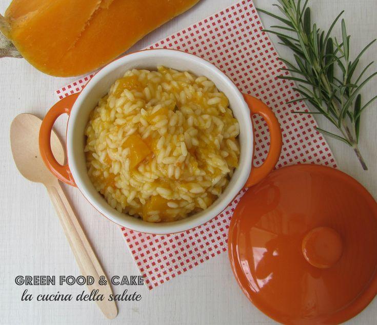 Risotto+alla+zucca+e+rosmarino http://blog.giallozafferano.it/greenfoodandcake/risotto-alla-zucca-rosmarino/
