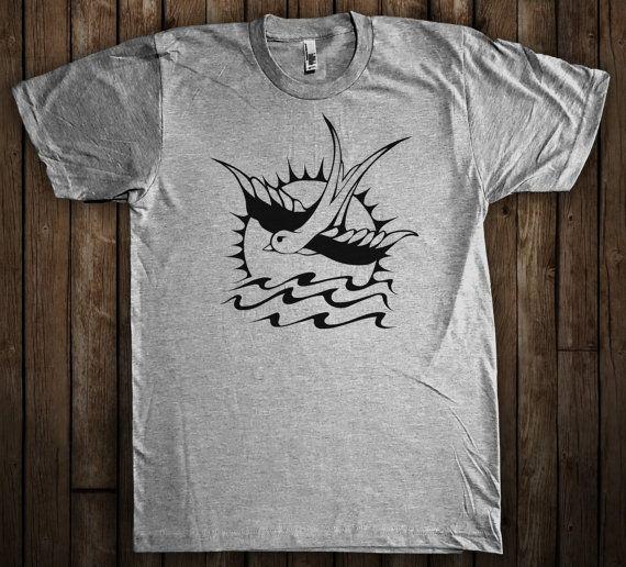 Captain Jack Sparrow Tattoo T-Shirt Pirates of the by ShirtAntics
