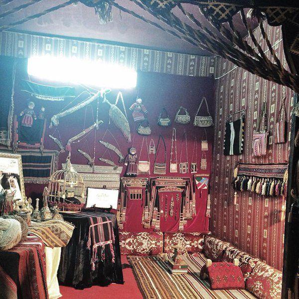 Souk Okaz kiosk, traditional handicrafts, Saudi Arabia