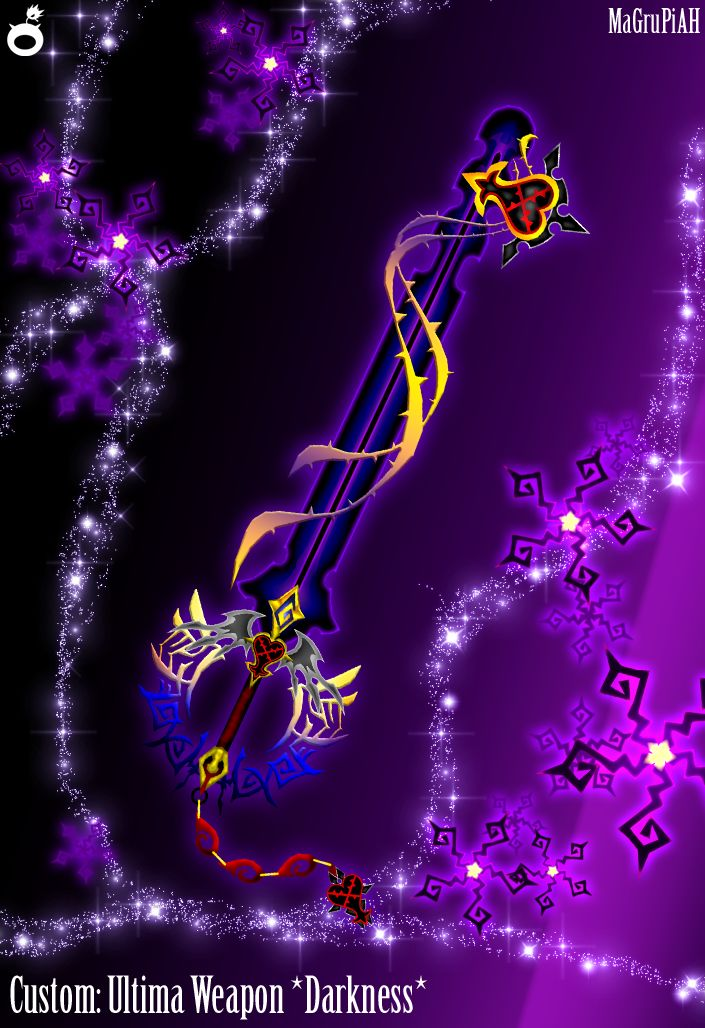 how to get the ultima weapon in kingdom hearts