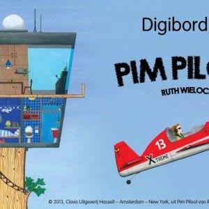 Aan de hand van hetfantastische boek Pim Piloot van Ruth Wielockx, maakte meester Sander Gordijn een waanzinnige digibordles met veel anima...