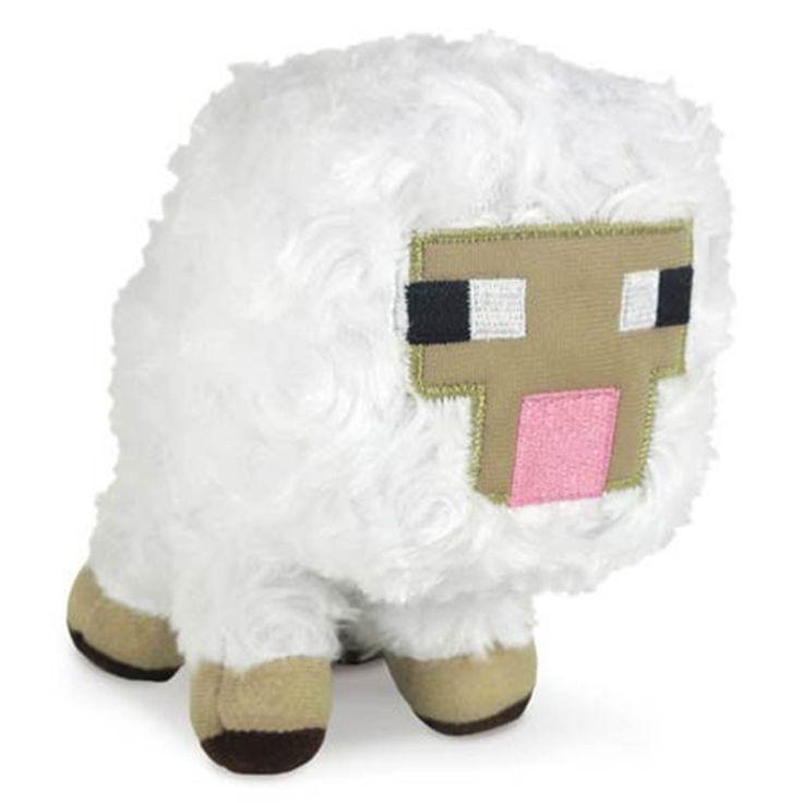 Minecraft Baby Sheep Plush Figure
