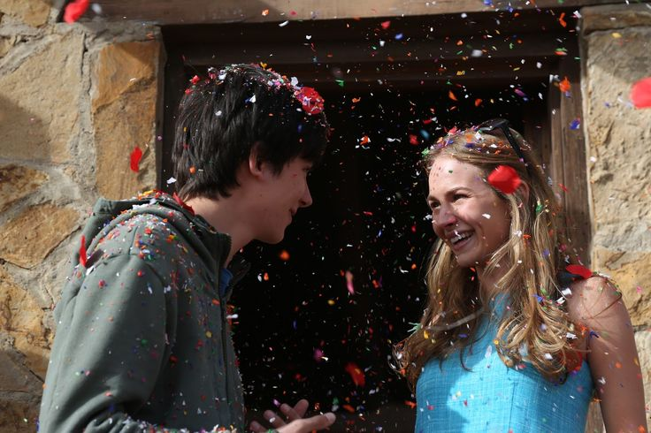 Asa Butterfield and Britt Robertson star in The Space Between Us