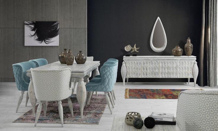 Nirvana Yemek Odası Takımı Tarz Mobilya   Evinizin Yeni Tarzı '' O '' www.tarzmobilya.com ☎ 0216 443 0 445 Whatsapp:+90 532 722 47 57 #yemekodası #yemekodasi #tarz #tarzmobilya #mobilya #mobilyatarz #furniture #interior #home #ev #dekorasyon #şık #işlevsel #sağlam #tasarım #konforlu #livingroom #salon #dizayn #modern #rahat #konsol #follow #interior #armchair #klasik #modern
