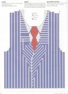 Pinstripe suit sweater graph  kAFFE FASSETT