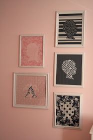 so, the pink and navy nursery is almost finished, but i thought i would give you another sneak peek at a project i completed for it: fabric ...
