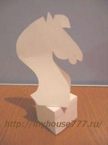 шахматная фигура Конь