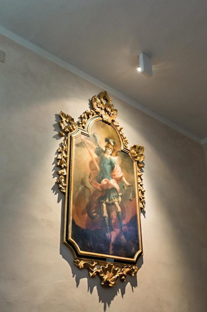 Chiesa San Michele Arcangelo di Certosa - HI LITE Next fornitura apparecchi di #illuminazione #viabizzuno spot two