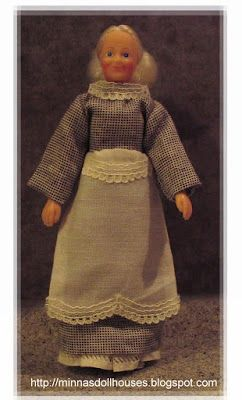 Minna's Miniatures: Nanny Fanny and her new clothes