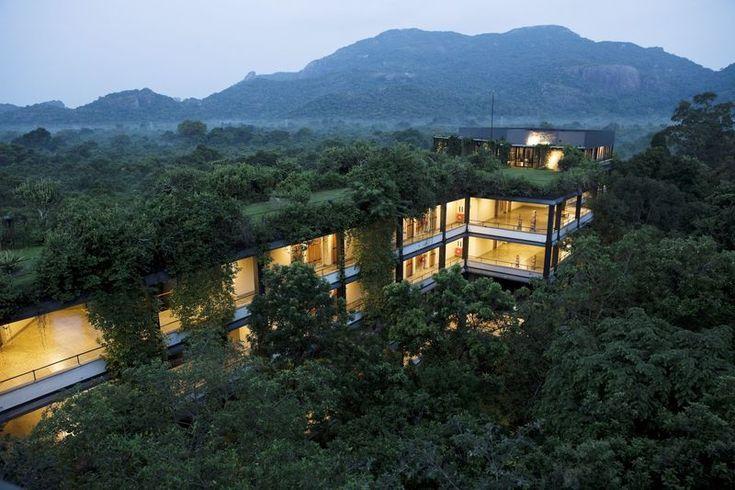 Heritange Kandala hotel in Dambulla Sri Lanka designed by architect Jeffrey Bawa