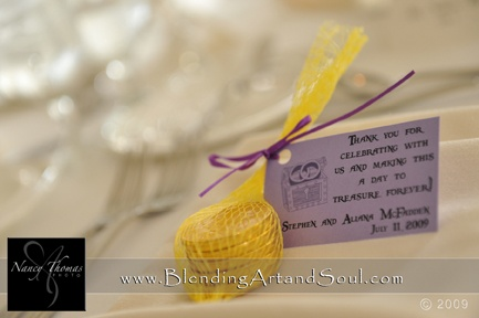 Our wedding favors - ECU Pirate theme to the wedding. Arrgghh!!