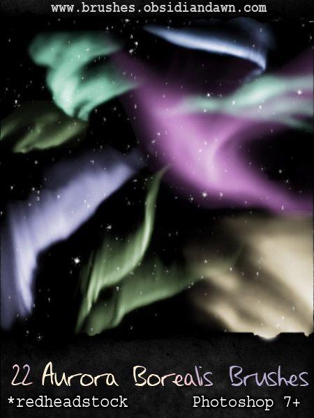 GIMP Aurora Brushes by Project-GimpBC.deviantart.com on @deviantART