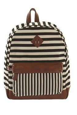 Ruby & Kit Stripe Backpack