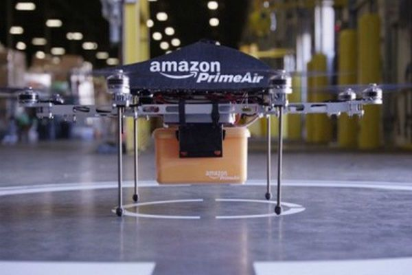 Amazon'dan Posta Güvercini Yerine Posta Drone'u