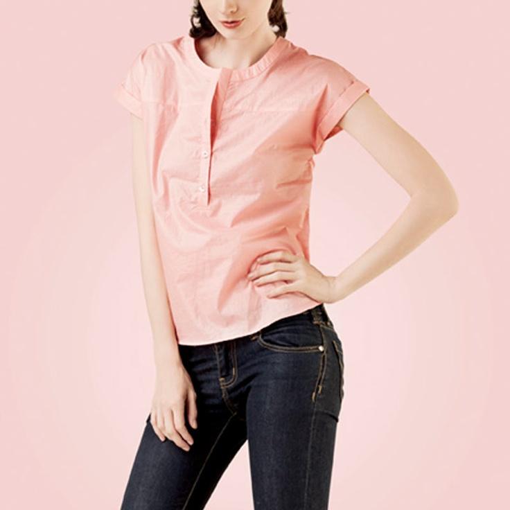 POPLIN Blouse Pink