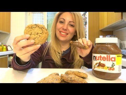 ricetta cookies ripieni alla nutella
