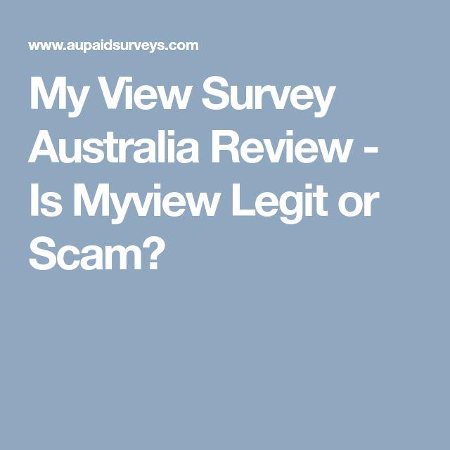 My View Survey Australia Review - Is Myview Legit or Scam?