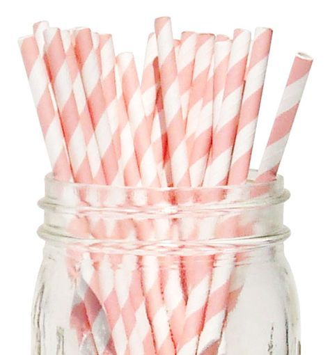Striped Paper Straws and tons of other cheap party supplies!