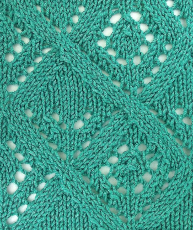 Knit And Purl Stitch Library : 12 best images about August 2013 Knitting Stitch Patterns on Pinterest
