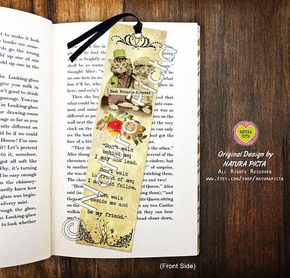 Best friends forever quote Bookmark-Friendship by naturapicta ©NATURA PICTA All Rights Reserved