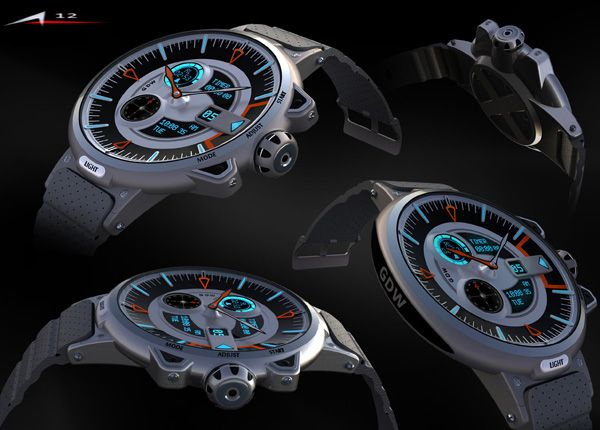 G Shock Watch Concept by Alp Germaner... Should be awesome if they get around to releasing this